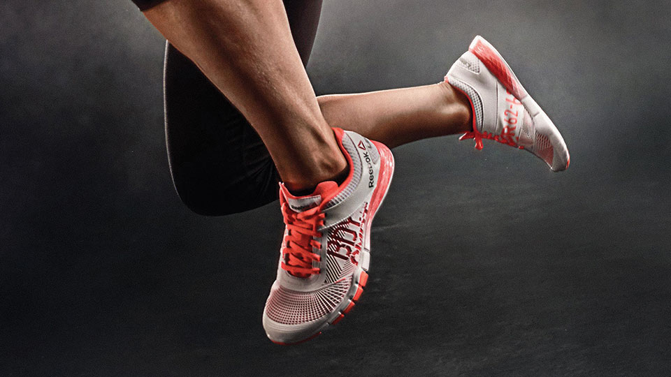 Les Mills BODYCOMBAT shoes by Reebok
