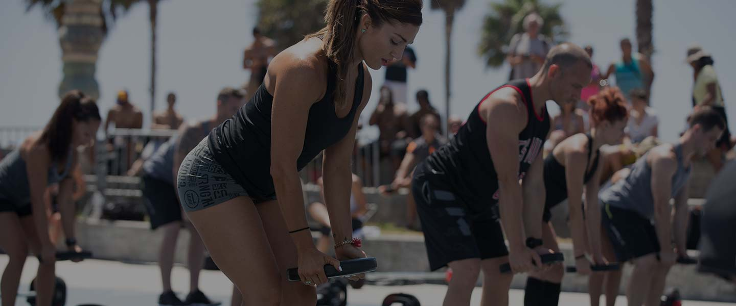 LES MILLS GRIT Strength on Venice Beach