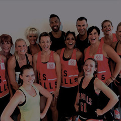 Les Mills group fitness attendees
