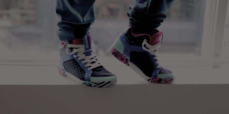 Les Mills Dance Shoe by Reebok