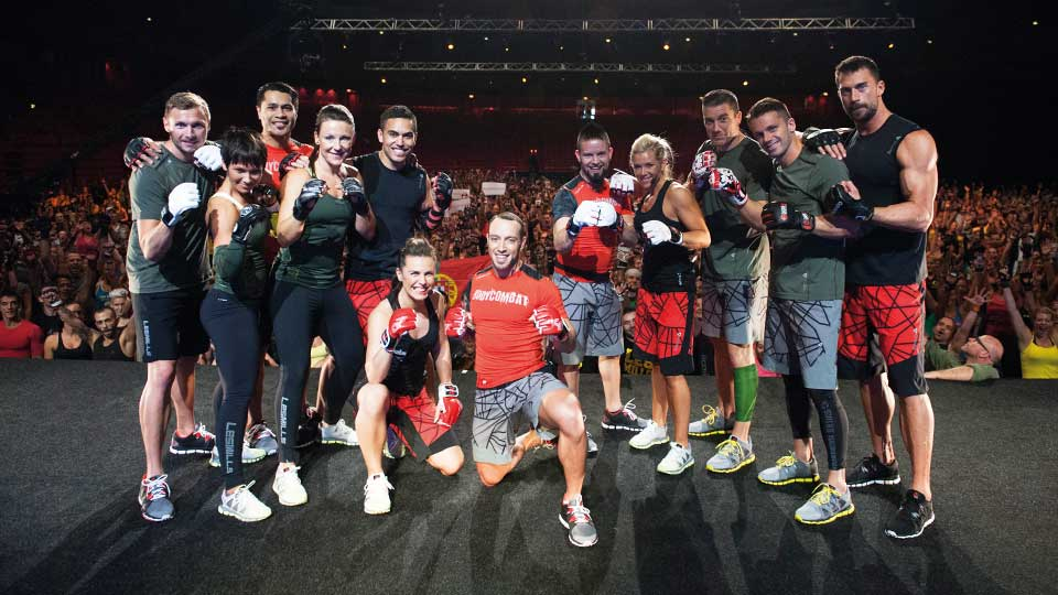 BODYCOMBAT™ Instructors at Super Saturday