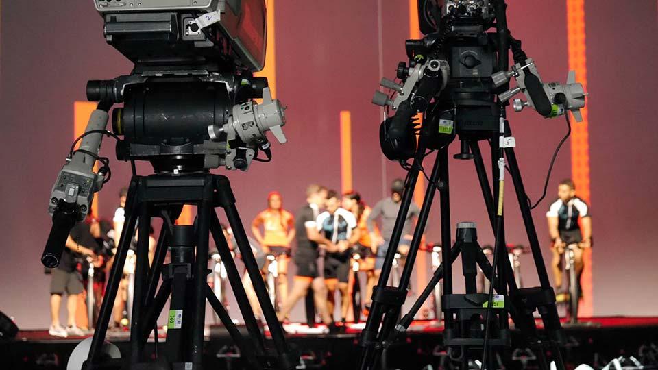 Les Mills RPM™ 66 filming