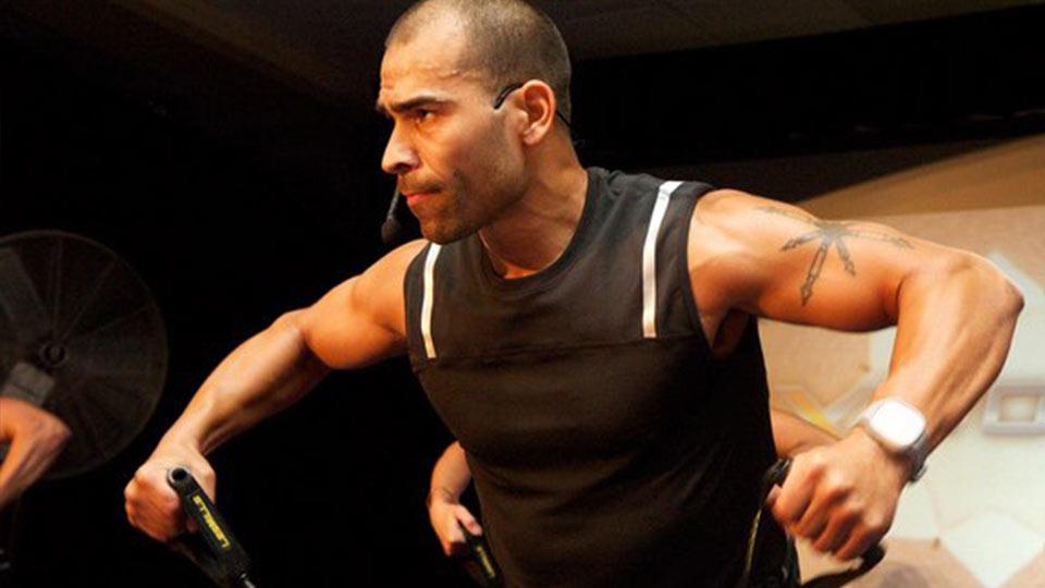 Les Mills instructor Angel Santiago