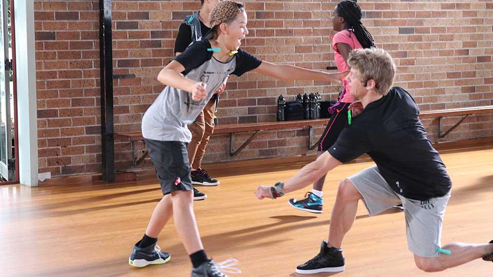 BORN TO MOVE teacher - teens