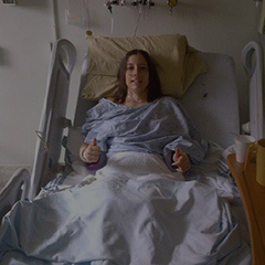 Erica in hospital