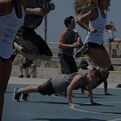 Les Mills GRIT fitness workout pushup