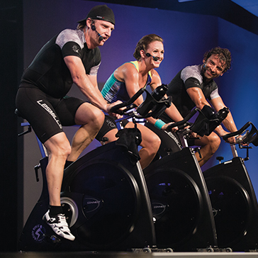 Les Mills Instructors teach RPM™ class