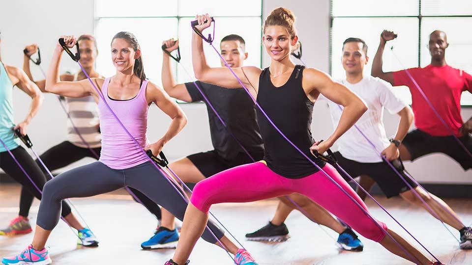 CXWORX workout fitness class