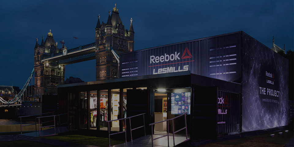 Reebok / Les Mills Immersive Fitness London
