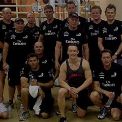 Emirates Team NZ do Les Mills GRIT