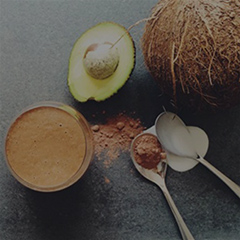 Coconut Avocado Cacao Smoothie