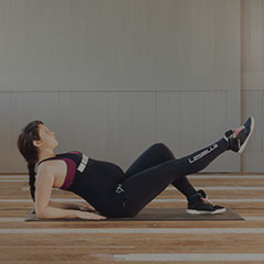 Pregnant woman doing a fitness workout