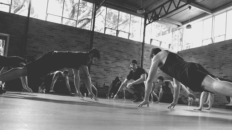 Les Mills GRIT fitness workout pushups