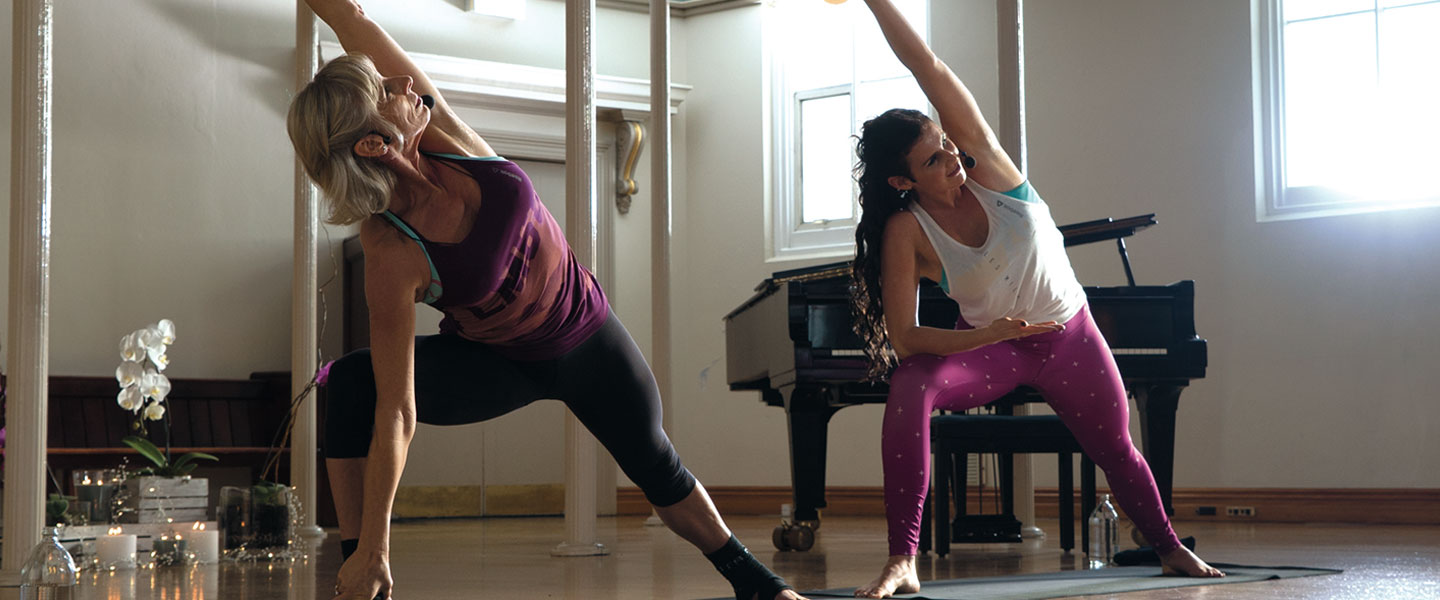 Les Mills BODYBALANCE with Jackie and Diana Mills