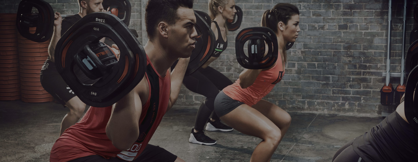 BODYPUMP class in action