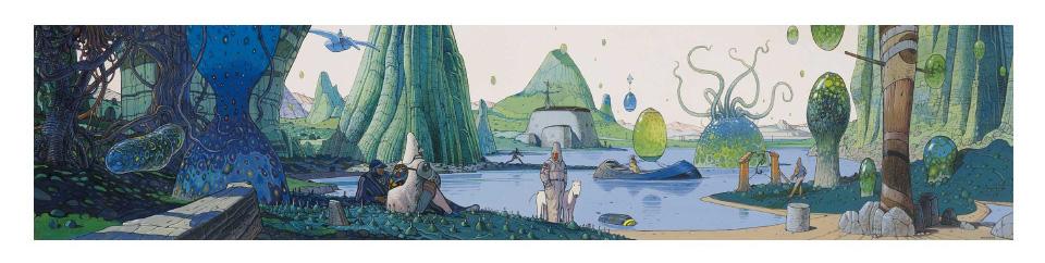 THE TRIP 6 Bright World Illustration