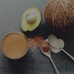Raw cacao espresso smoothie