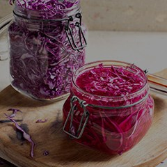 RED CABBAGE & BEET SAUERKRAUT