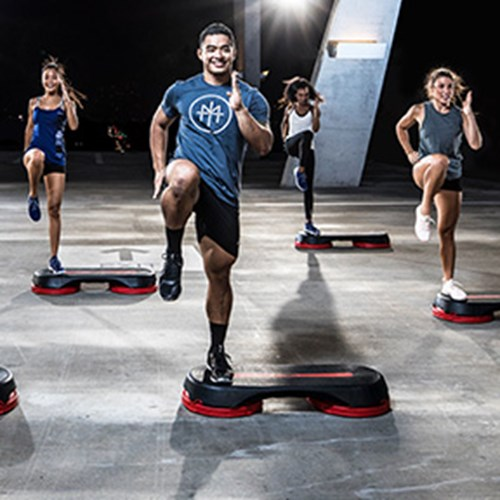 BODYSTEP – Step Aerobic Fitness Workouts – Les Mills